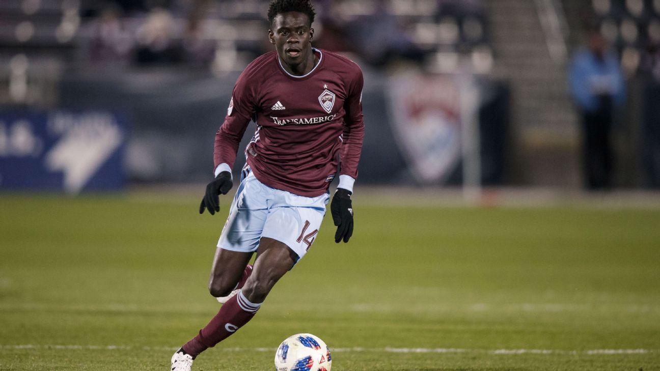 Dominique Badji nets hat trick in Colorado win over Philadelphia