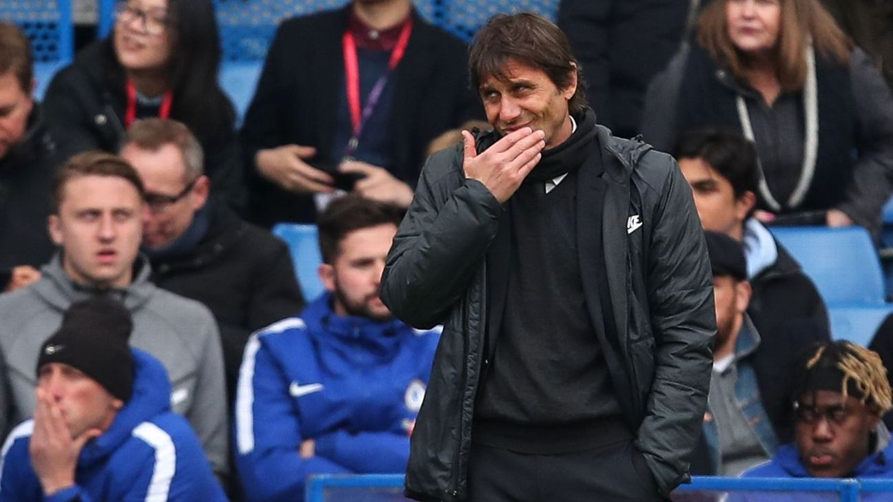 Antonio Conte's future at Chelsea is uncertain.