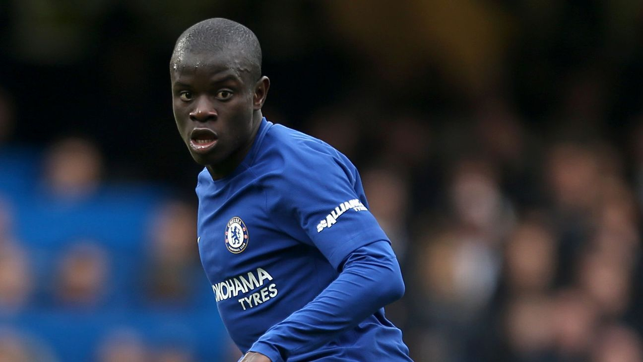 N'Golo Kante joined Chelsea in the summer of 2017.