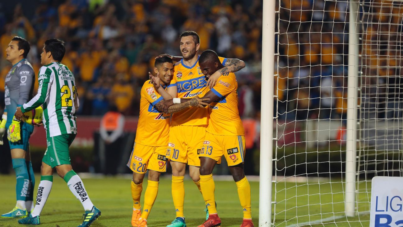 Tigres' frontline makes them the favorites in Liga MX regardless of the standings.