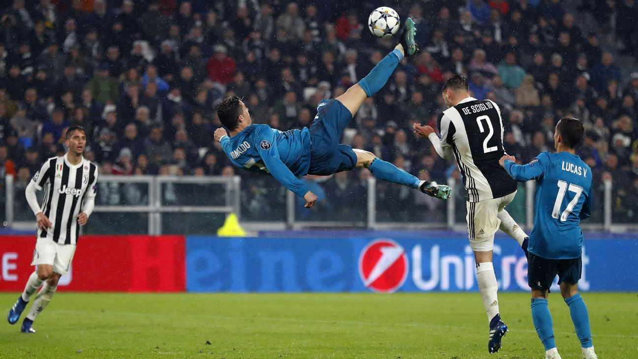 Cristiano Ronaldo's goal proved crucial in Real Madrid's quarterfinal vs Juventus.