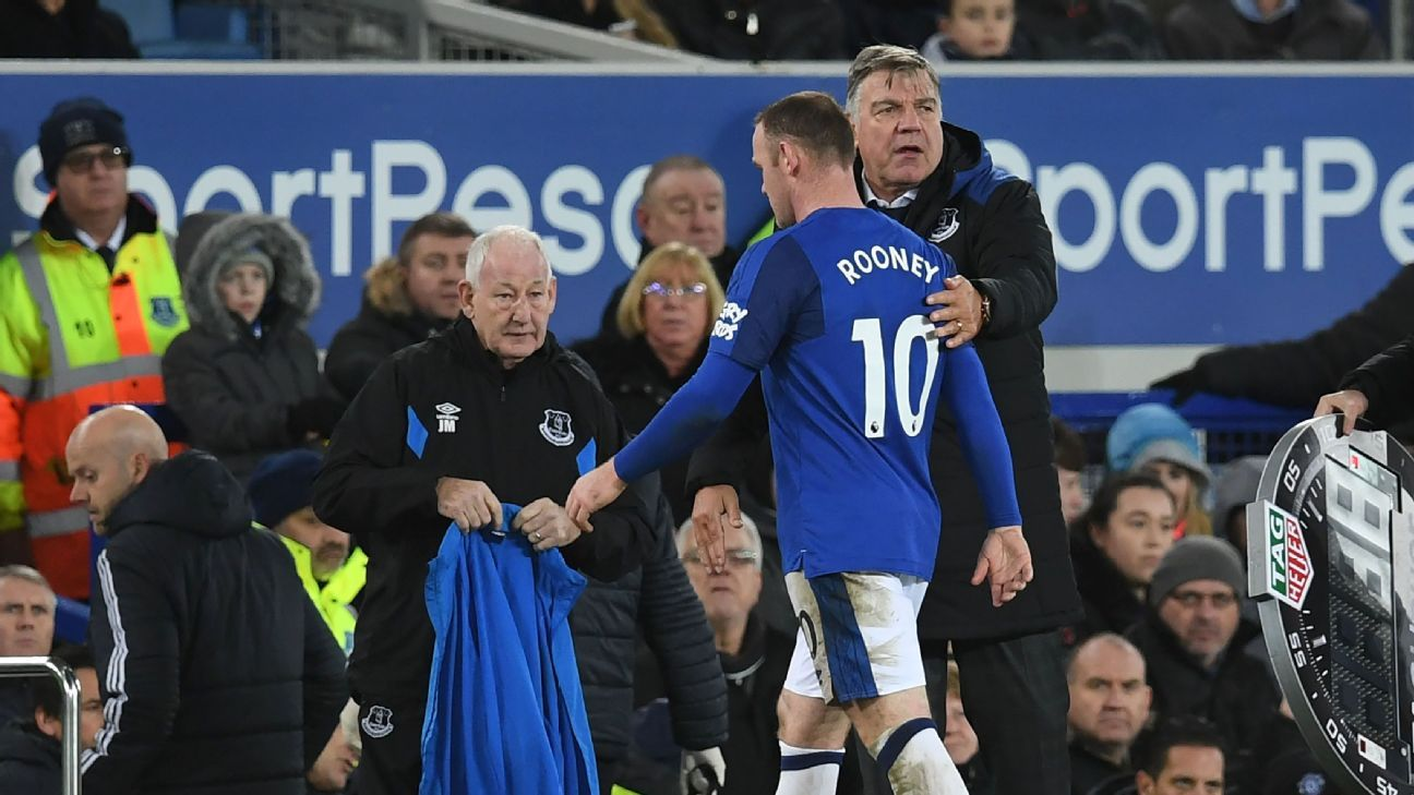 The hiring of Sam Allardyce and signing of Wayne Rooney highlight  Everton's lack of direction.