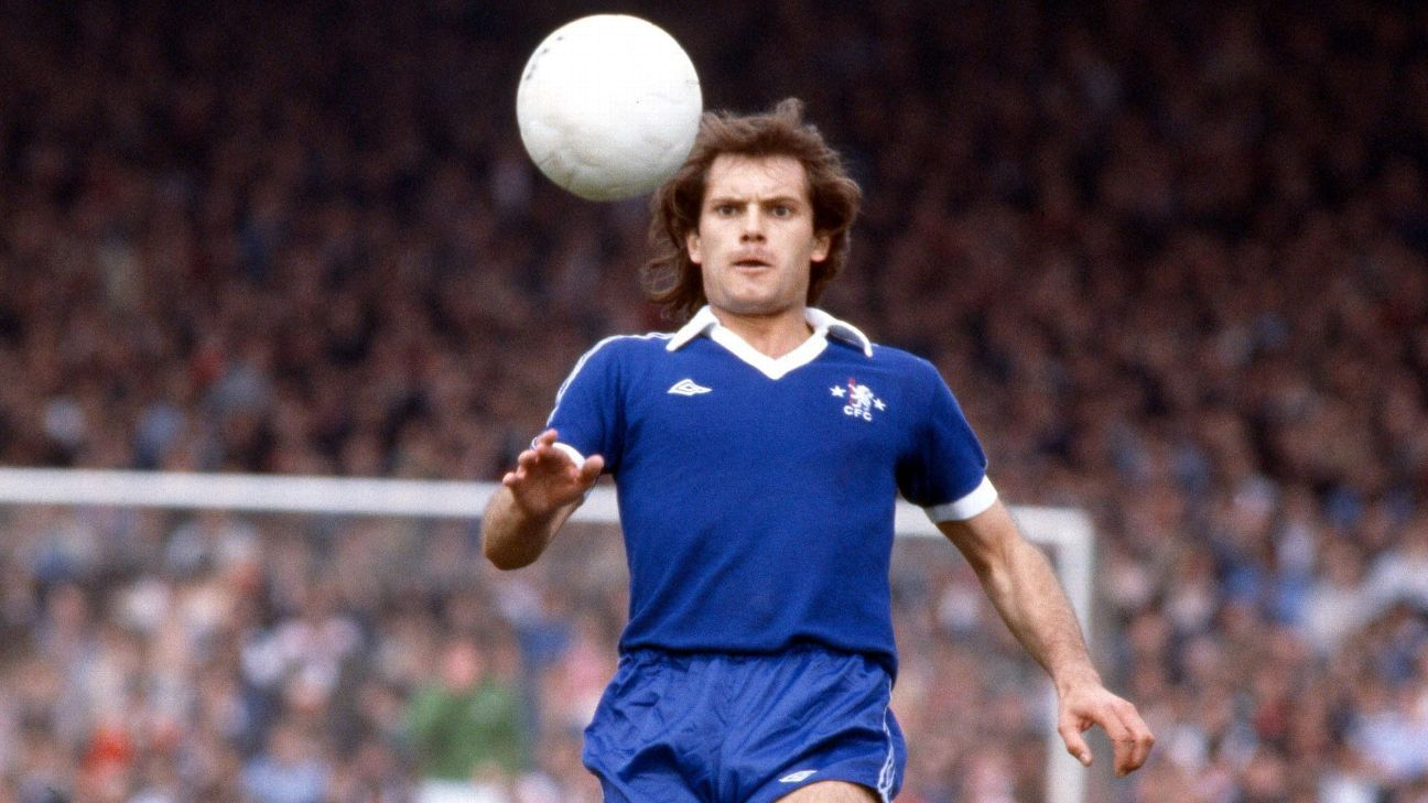Ray Wilkins played for Chelsea between 1973 and 1979.