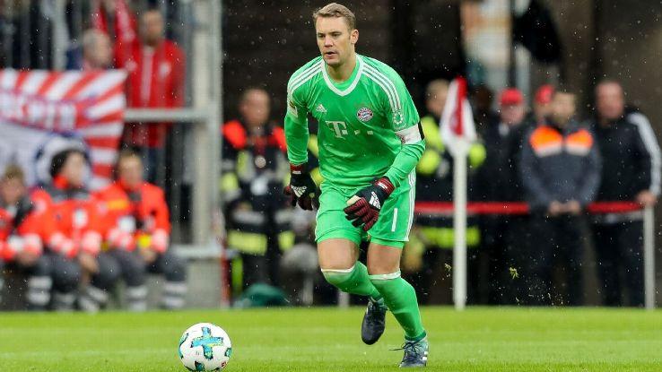 Bayern Munich's Manuel Neuer