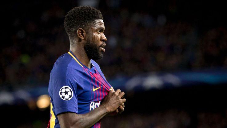 Barcelona's Samuel Umtiti