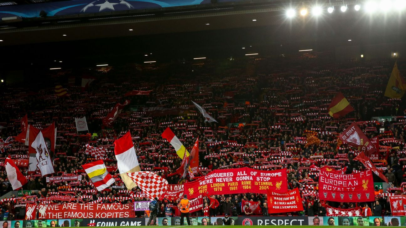 Liverpool will not play at Anfield on any weekend prior to a Champions League group stage game.