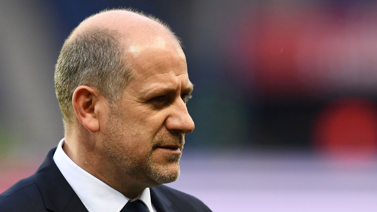 Paris Saint-Germain sporting director Antero Henrique.