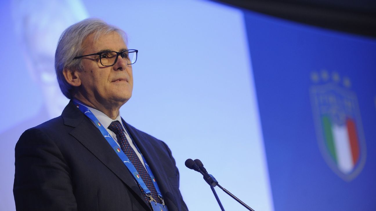 Italian referees association (AIA) president Marcello Nicchi