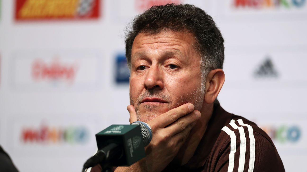 Juan Carlos Osorio has managed Mexico since 2015.