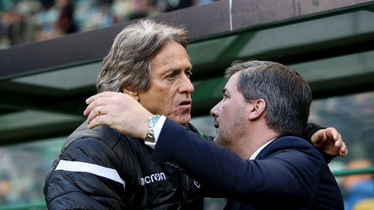 Jorge Jesus left Sporting at the end of the 2017-18 season.