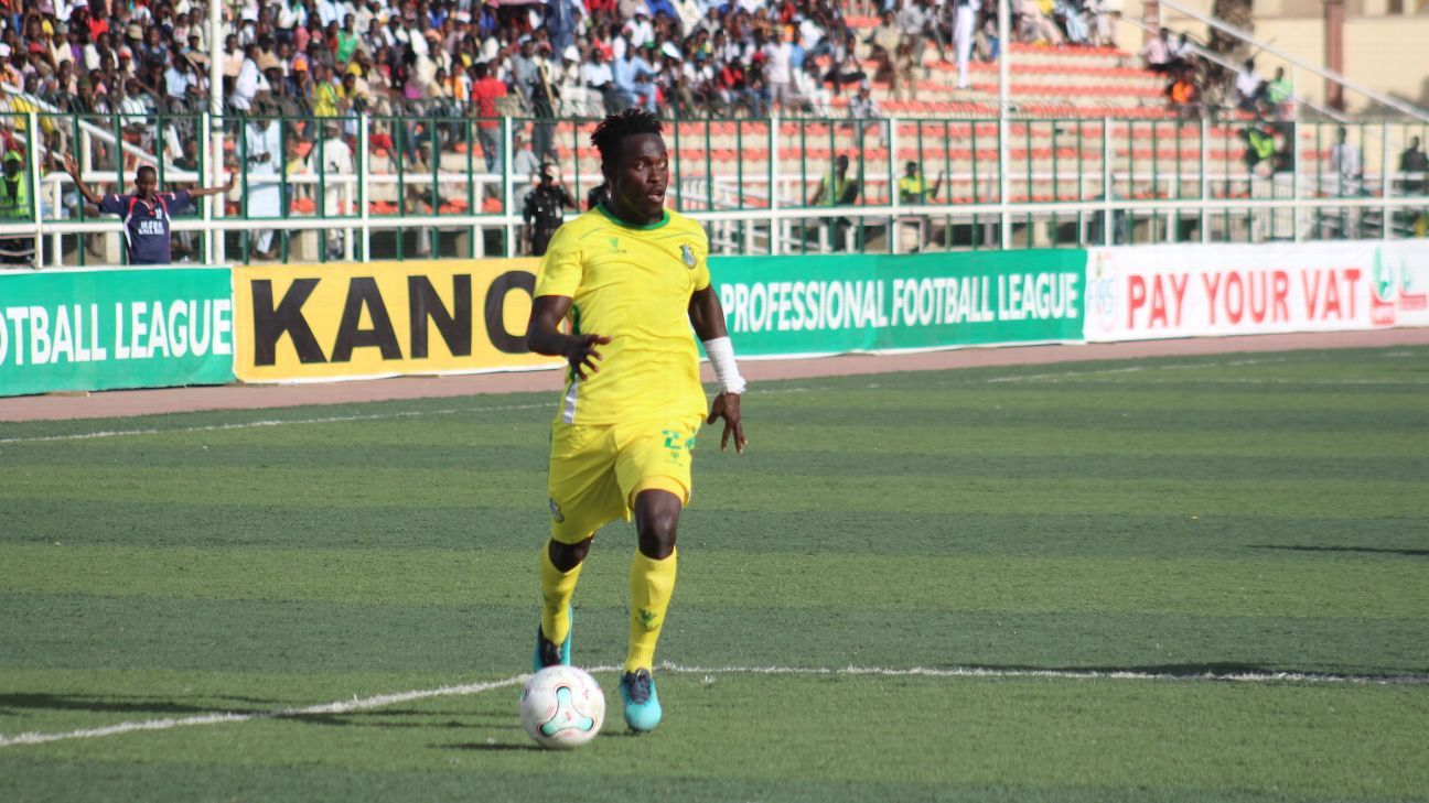 Junior Lokosa of Kano Pillars