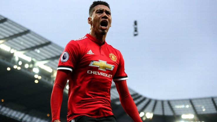 Chris Smalling's winner completed Manchester United's dramatic comeback against Manchester City.