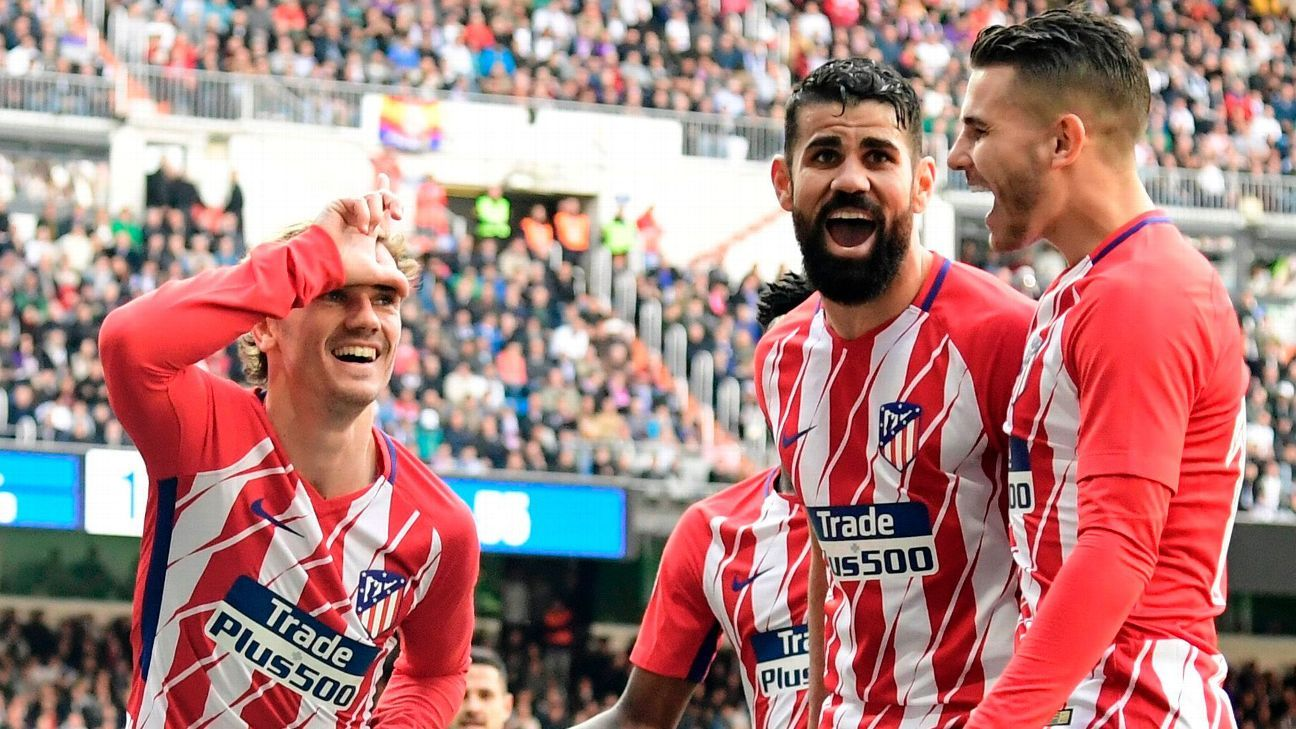 Can Atletico Madrid upset Spain's big two and win La Liga, just as they did in 2013-14?