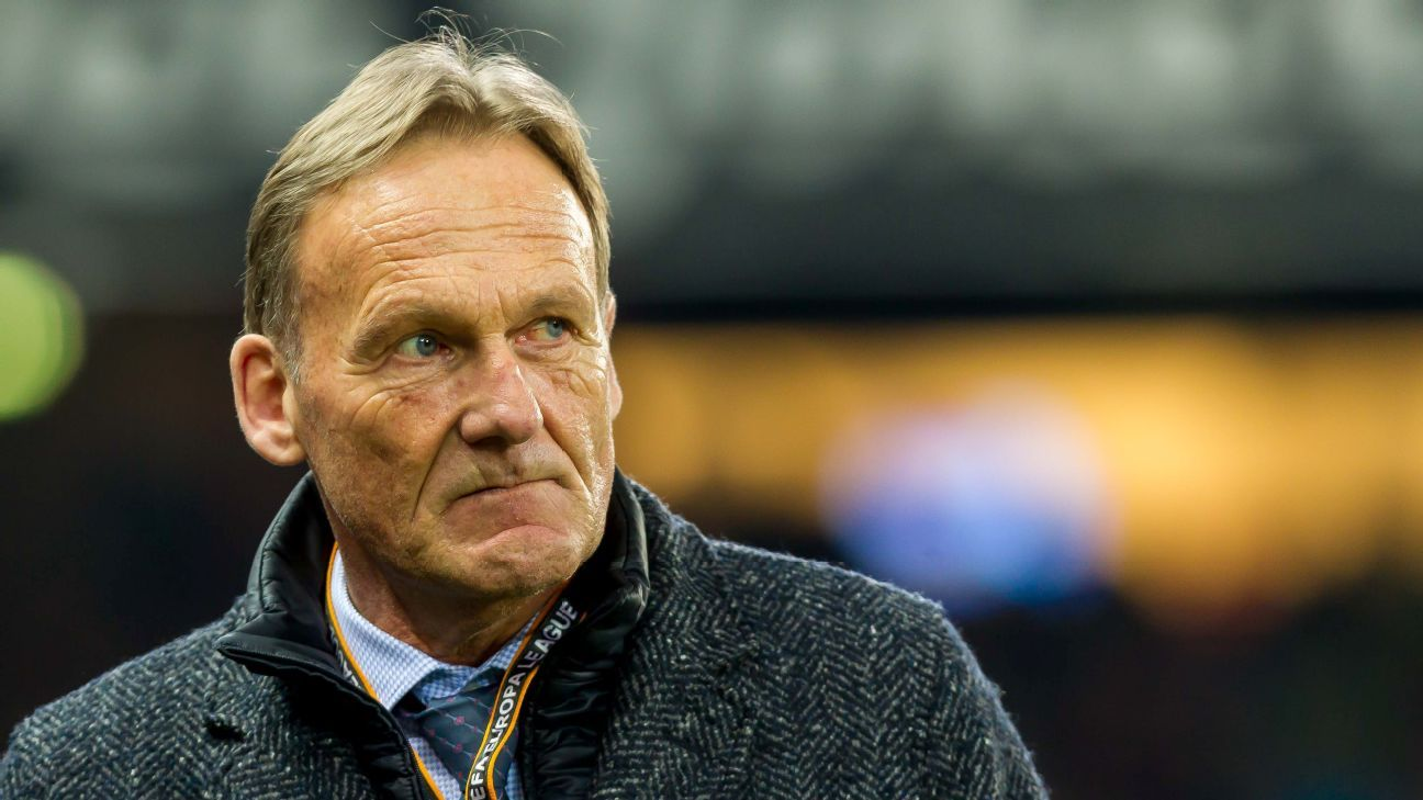 Hans-Joachim Watzke has endured a challenging season with Dortmund.
