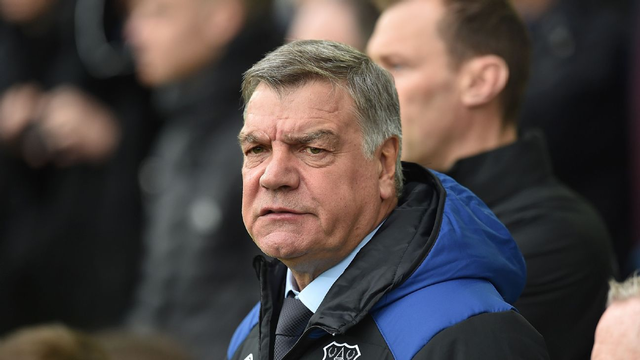 Sam Allardyce's tenure at Everton did not last a full season.