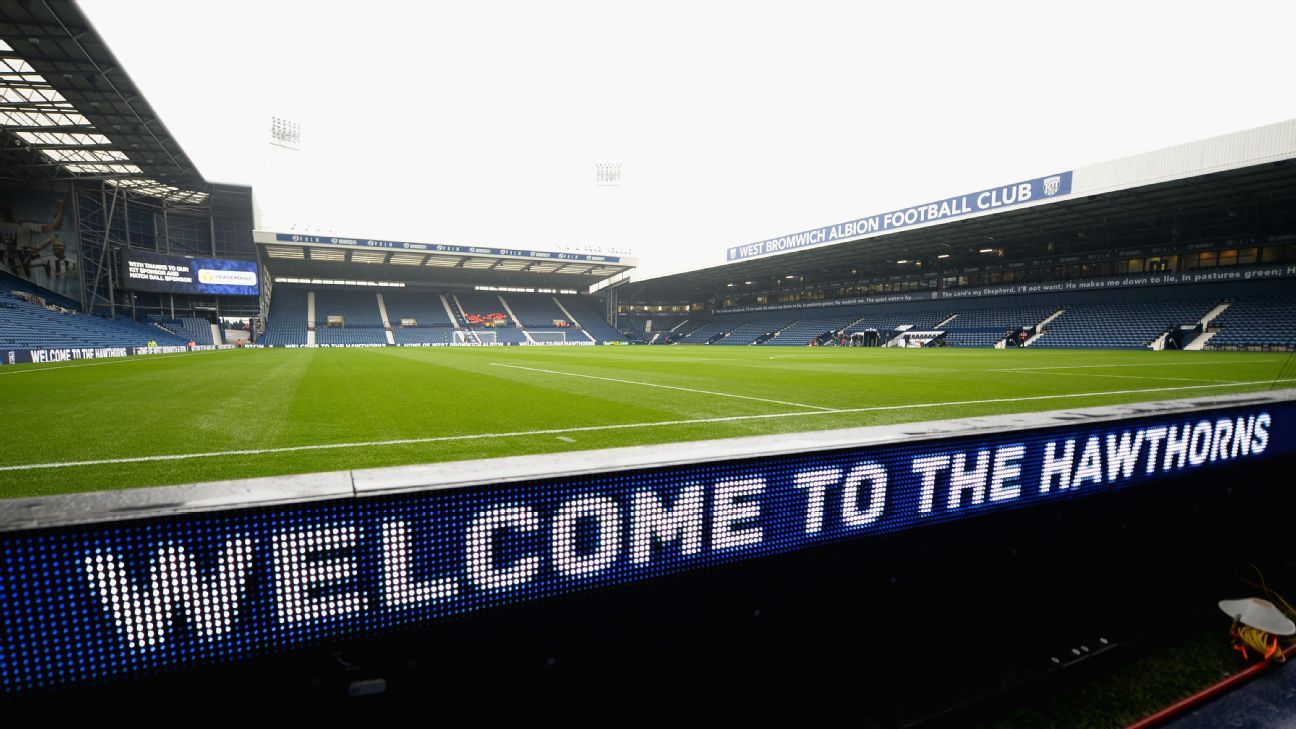 The Hawthorns, home of West Bromwich Albion
