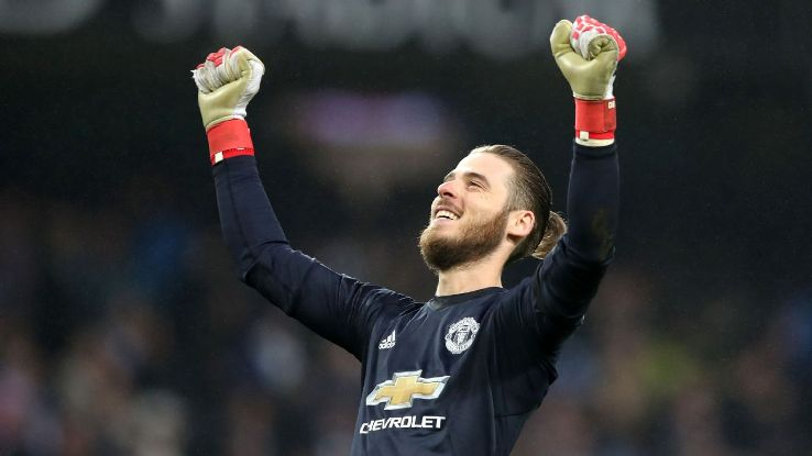 David De Gea has been one of Manchester United's best players since he moved to Old Trafford.