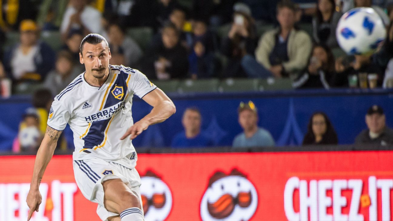Zlatan Ibrahimovic will not rule out Europe return after LA Galaxy deal ends
