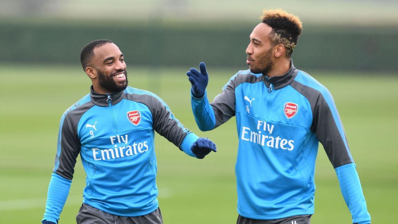 Arsenal's Pierre-Emerick Aubameyang: 'Positive' Alexandre Lacazette helped me to settle