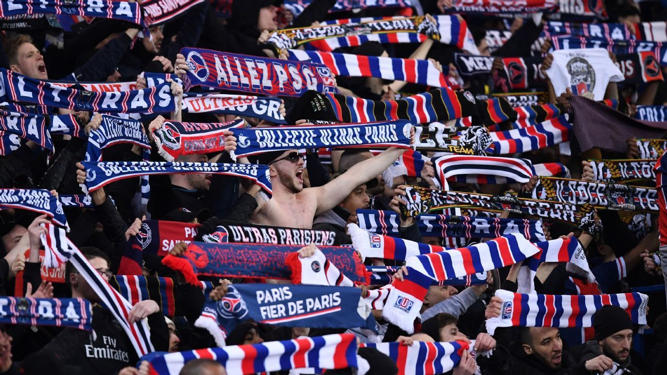 Paris Saint-Germain supporters