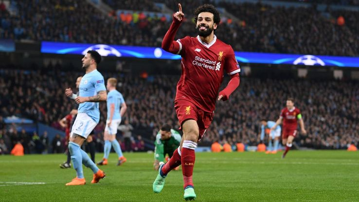Mo Salah was the star of the show as Liverpool knocked out Manchester City.