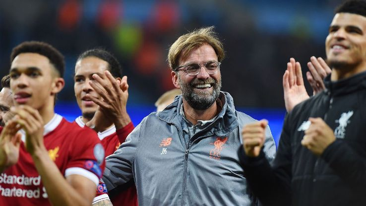 Jurgen Klopp and Liverpool's swashbuckling style have brought added excitement to the UCL,