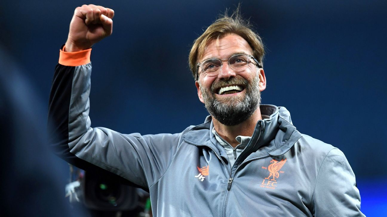 Jurgen Klopp has masterminded Liverpool's run to the Champions League final.