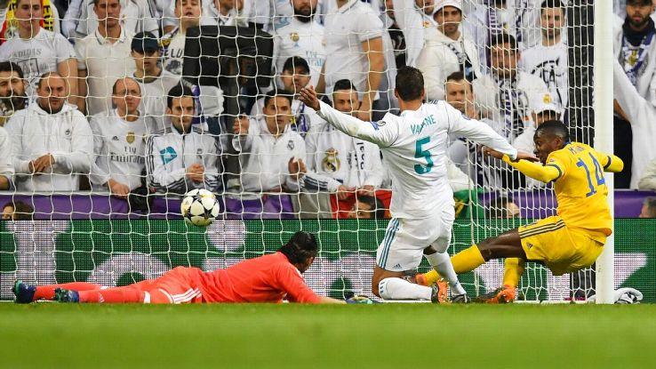 Blaise Matuidi pulled Juventus level at 3-3.