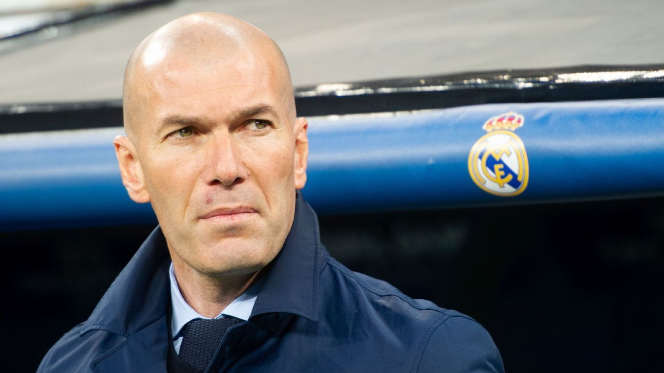 Zinedine Zidane was not impressed with what he saw vs. Juventus.