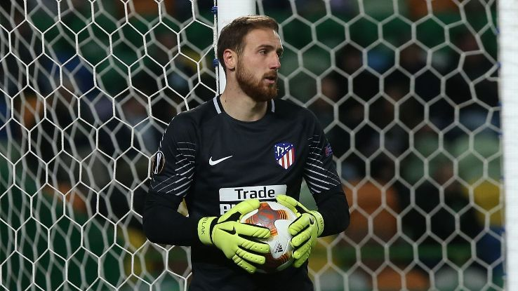 Atletico Madrid's Jan Oblak has become one of the world's top goalkeepers.