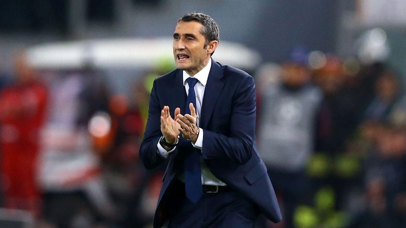Barcelona's Ernesto Valverde