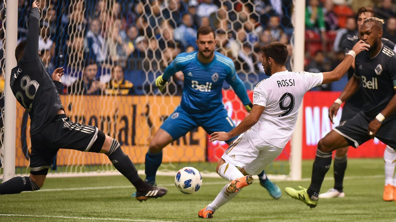 Rossi, Vela score as LAFC get back to winning ways against Vancouver