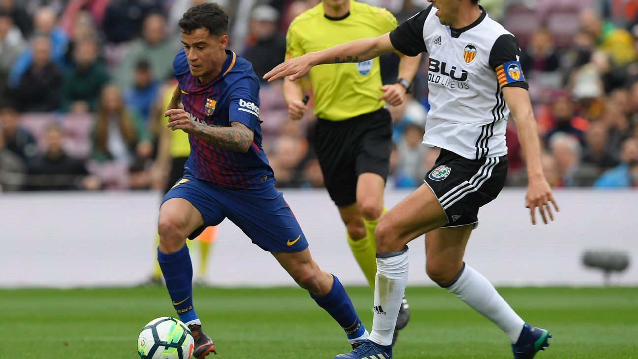 Philippe Coutinho had one of his best outings in a Barcelona shirt, providing two assists vs. Valencia.