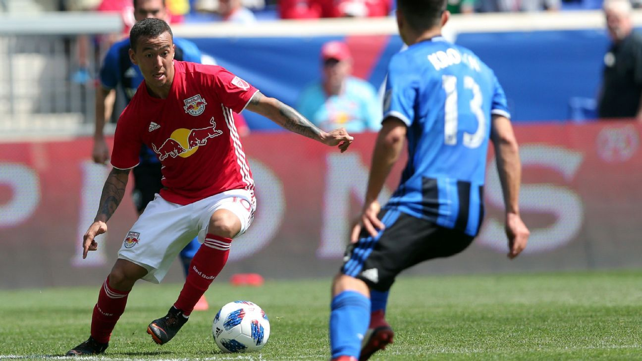 Red Bulls rebound from CCL defeat with win over Impact