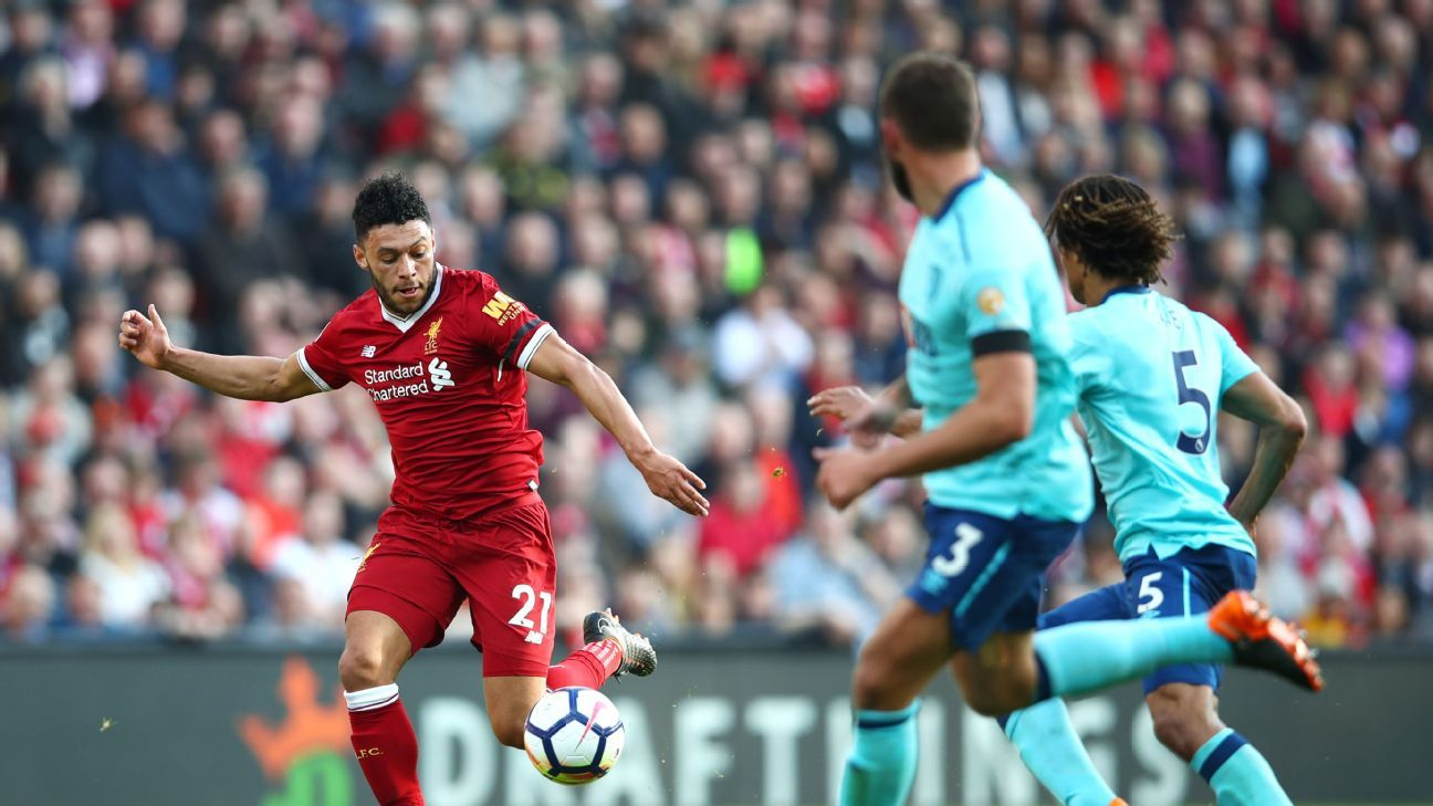 Alex Oxlade-Chamberlain didn't score but he was Liverpool's best player vs. Bournemouth.