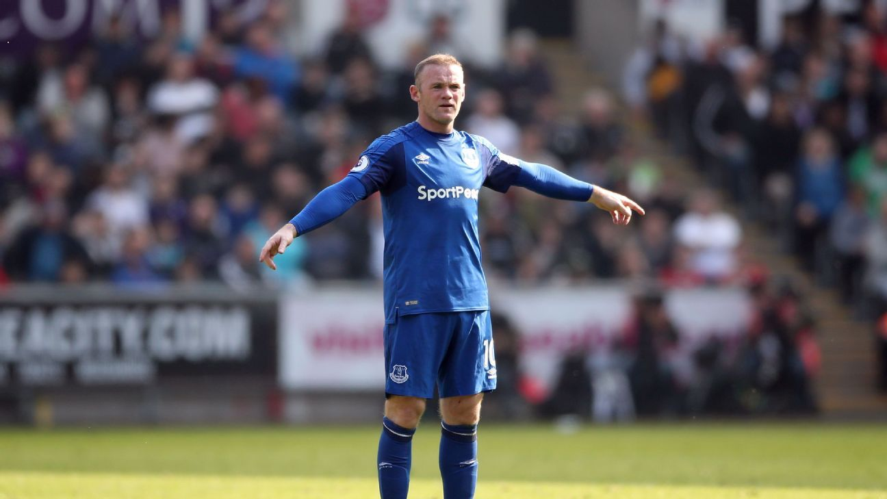 Wayne Rooney's Everton future remains muddled.