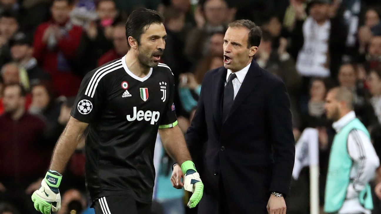Gianluigi Buffon & Max Allegri