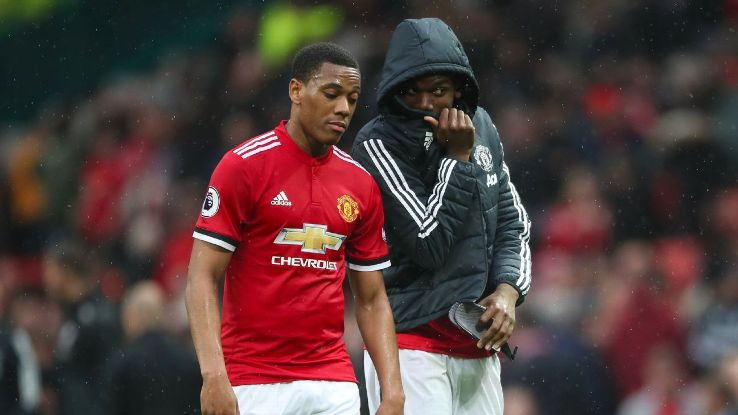 Anthony Martial had a frustrating 30-minute cameo vs. West Brom.