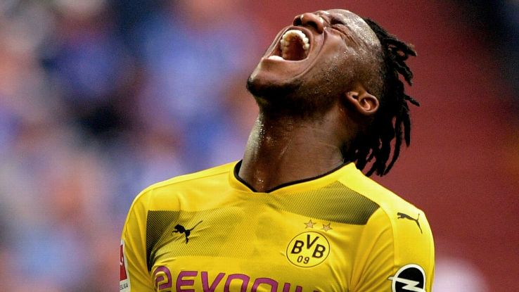 Michy Batshuayi's injury could spell trouble for Dortmund's UCL hopes.