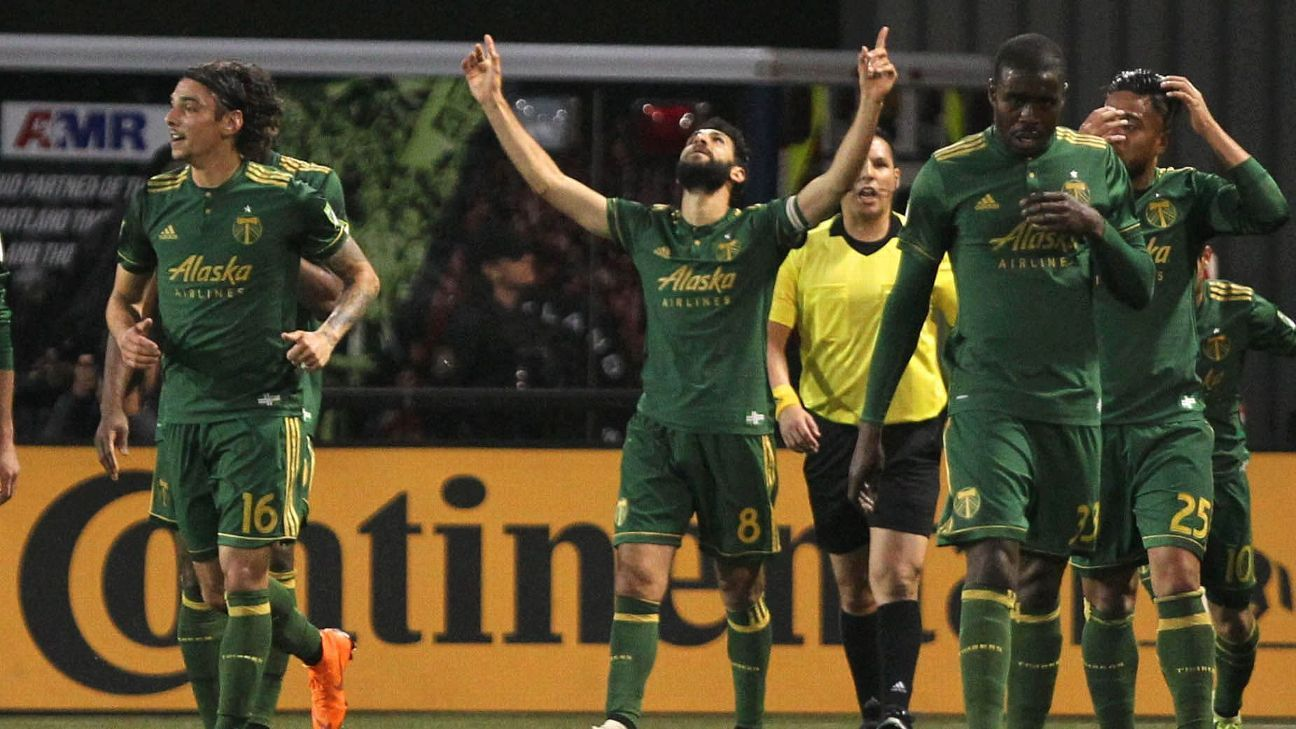 Portland Timbers make leap, top four remain same in Power Rankings
