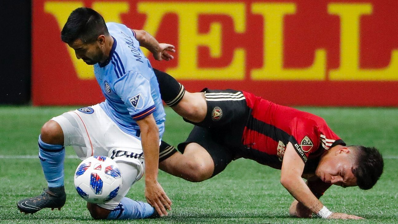 Alexander Ring salvages point for NYCFC as Ezequiel Barco makes MLS debut