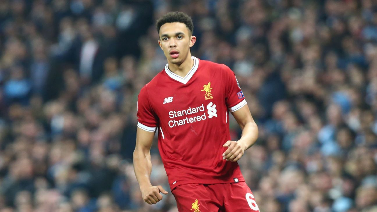 Trent Alexander-Arnold's form for Liverpool has seen him become a regular member of Jurgen Klopp's starting XI.