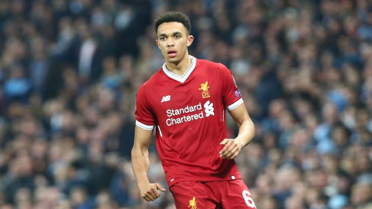 Trent Alexander-Arnold attended the Juventus game at Anfield in 2005 as a six-year-old.