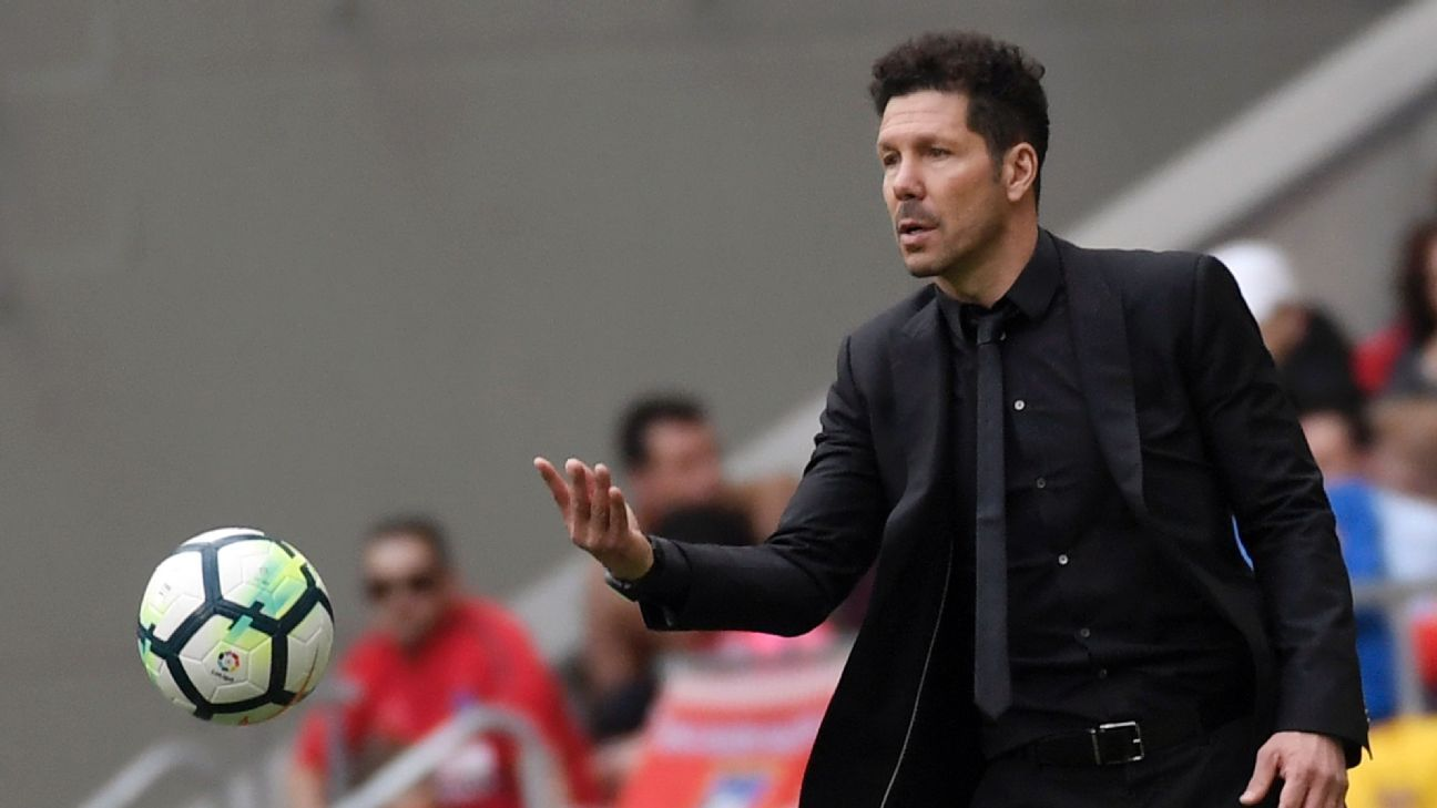 Diego Simeone has Atletico contending in the latter stages of another European competition.