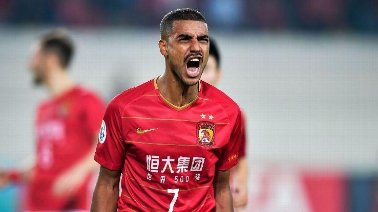 Guangzhou Evergrande's Alan Carvalho
