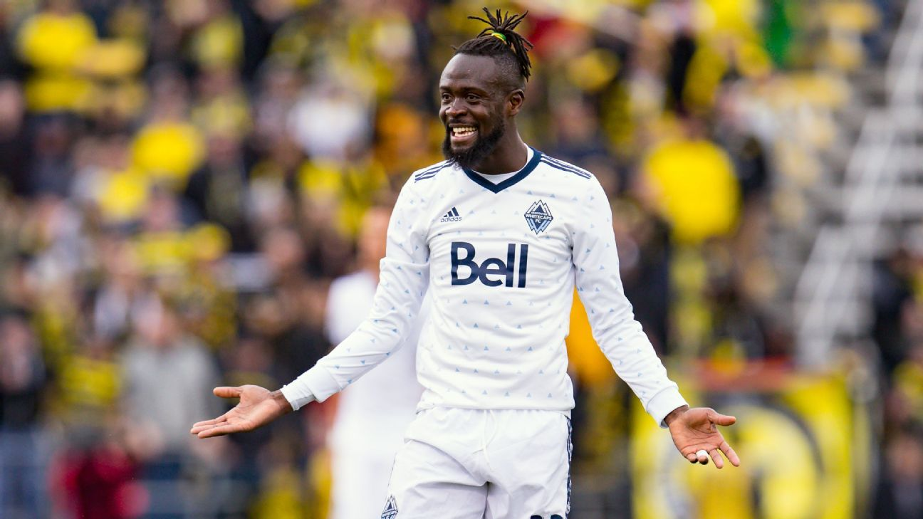 Vancouver Whitecaps' Kei Kamara out at least three matches with groin injury