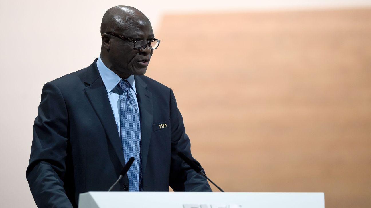 FIFA council member Constant Omari