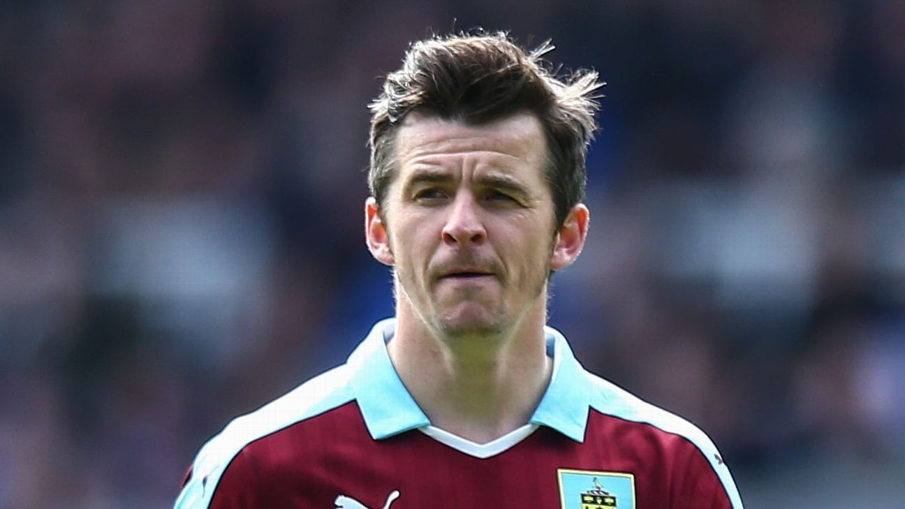 Former Burnley midfielder Joey Barton