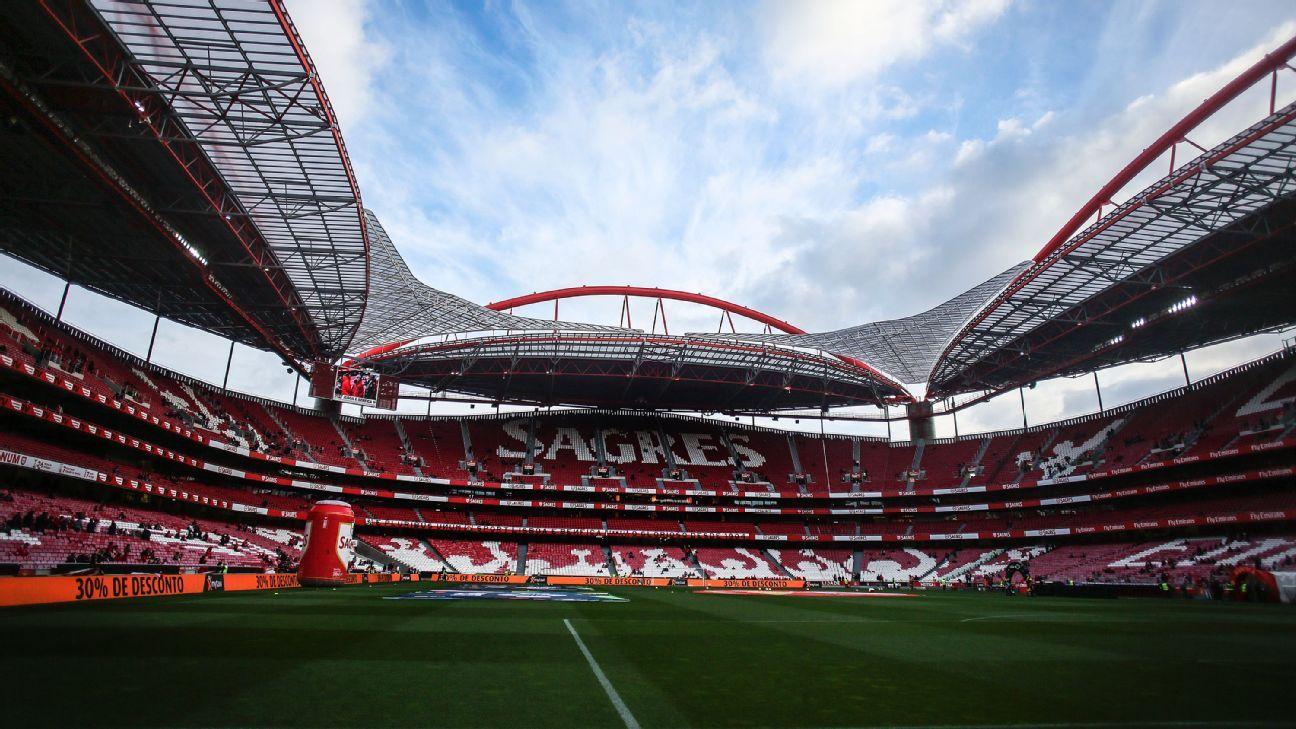 Benfica's Estadio da Luz
