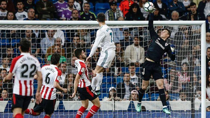 Athletic Bilbao goalkeeper Kepa Arrizabalaga
